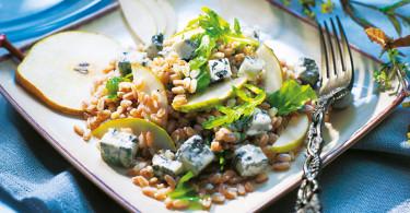 insalata Farro Pere e gorgonzola